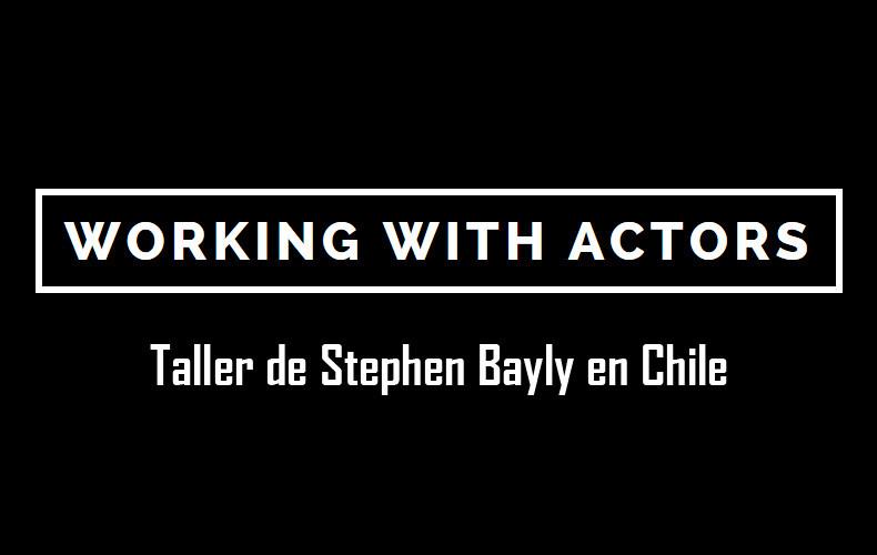 Taller de Stephen Bayly en Chile